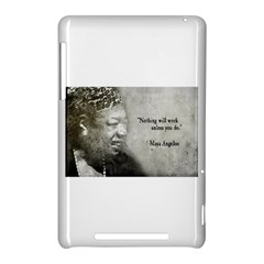 Maya Angelou Google Nexus 7 (2012) Hardshell Case