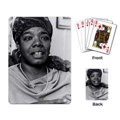 Maya Playing Cards Single Design