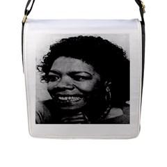 Maya3 Flap Closure Messenger Bag (Large)