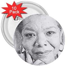 Maya  3  Button (10 pack)