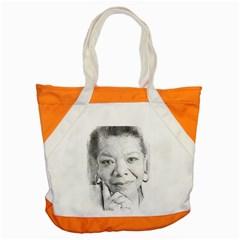 Maya  Accent Tote Bag
