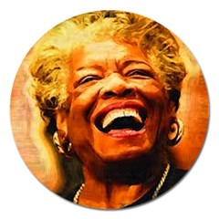 Angelou Magnet 5  (Round)