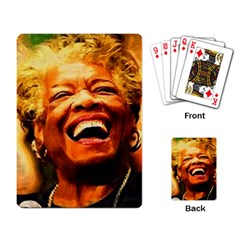 Angelou Playing Cards Single Design