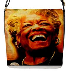 Angelou Flap Closure Messenger Bag (Small)