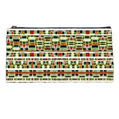 Aztec Grunge Pattern Pencil Case