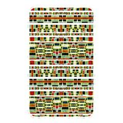Aztec Grunge Pattern Memory Card Reader (rectangular)