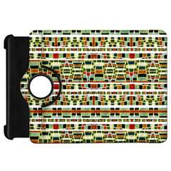 Aztec Grunge Pattern Kindle Fire Hd 7  (1st Gen) Flip 360 Case