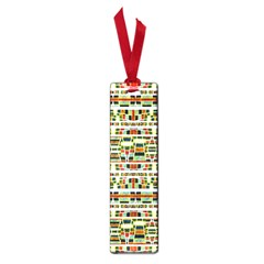Aztec Grunge Pattern Small Bookmark