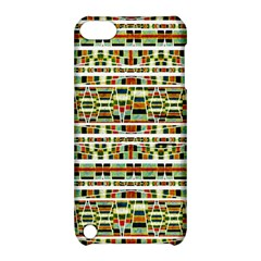 Aztec Grunge Pattern Apple iPod Touch 5 Hardshell Case with Stand