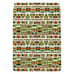 Aztec Grunge Pattern Removable Flap Cover (Large)