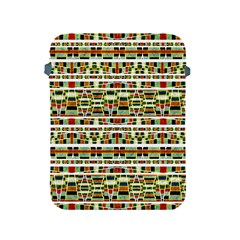 Aztec Grunge Pattern Apple Ipad Protective Sleeve