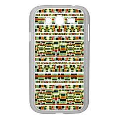 Aztec Grunge Pattern Samsung Galaxy Grand DUOS I9082 Case (White)