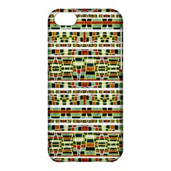 Aztec Grunge Pattern Apple iPhone 5C Hardshell Case