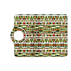 Aztec Grunge Pattern Kindle Fire HD 7  (2nd Gen) Flip 360 Case