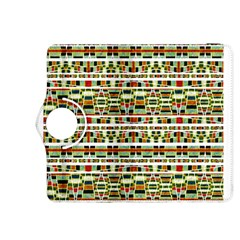 Aztec Grunge Pattern Kindle Fire HDX 8.9  Flip 360 Case