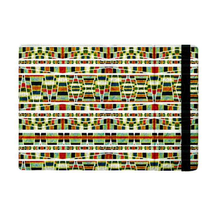 Aztec Grunge Pattern Apple iPad Mini 2 Flip Case