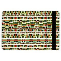 Aztec Grunge Pattern Apple iPad Air Flip Case