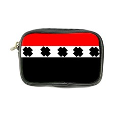 Red, White And Black With X s Design By Celeste Khoncepts Coin Purse
