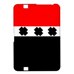 Red, White And Black With X s Electronic Accessories Kindle Fire HD 8.9  Hardshell Case