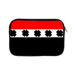 Red, White And Black With X s Electronic Accessories Apple iPad Mini Zippered Sleeve