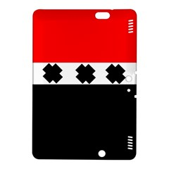 Red, White And Black With X s Electronic Accessories Kindle Fire HDX 8.9  Hardshell Case