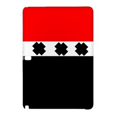 Red, White And Black With X s Electronic Accessories Samsung Galaxy Tab Pro 12 2 Hardshell Case