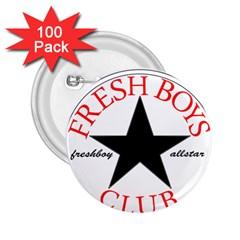 Fresshboy Allstar2 2 25  Button (100 Pack)