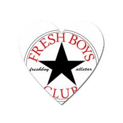 Fresshboy Allstar2 Magnet (heart)