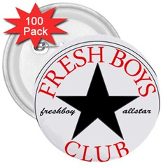 Fresshboy Allstar2 3  Button (100 pack)