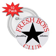 Fresshboy Allstar2 2 25  Button (10 Pack)