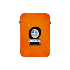 Orange Funny Too Much Coffee Apple Ipad Mini Protective Sleeve