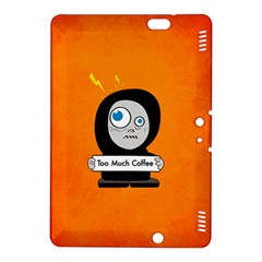 Orange Funny Too Much Coffee Kindle Fire HDX 8.9  Hardshell Case