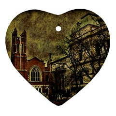 Dark Citiy Heart Ornament