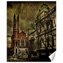 Dark Citiy Canvas 11  x 14  (Unframed)