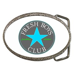 Fresshboy Allstar3 Belt Buckle (oval)