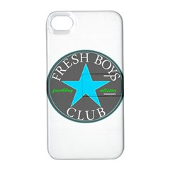 Fresshboy Allstar3 Apple Iphone 4/4s Hardshell Case With Stand