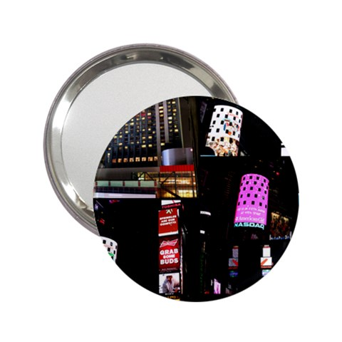 New York City at Night Handbag Mirror (2.25