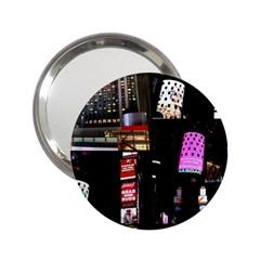New York City at Night Handbag Mirror (2.25 )