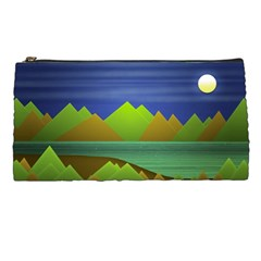 Landscape  Illustration Pencil Case