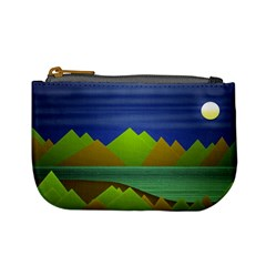 Landscape  Illustration Coin Change Purse