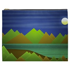 Landscape  Illustration Cosmetic Bag (XXXL)