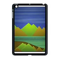 Landscape  Illustration Apple iPad Mini Case (Black)