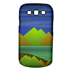 Landscape  Illustration Samsung Galaxy S III Classic Hardshell Case (PC+Silicone)