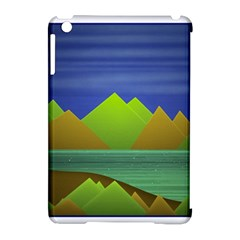 Landscape  Illustration Apple iPad Mini Hardshell Case (Compatible with Smart Cover)