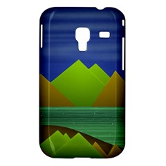 Landscape  Illustration Samsung Galaxy Ace Plus S7500 Hardshell Case