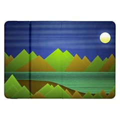 Landscape  Illustration Samsung Galaxy Tab 8 9  P7300 Flip Case