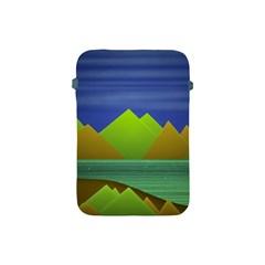 Landscape  Illustration Apple Ipad Mini Protective Sleeve