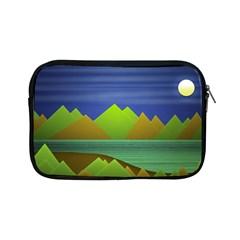 Landscape  Illustration Apple iPad Mini Zippered Sleeve
