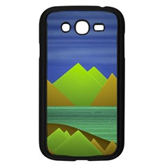 Landscape  Illustration Samsung Galaxy Grand DUOS I9082 Case (Black)