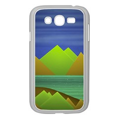 Landscape  Illustration Samsung Galaxy Grand DUOS I9082 Case (White)